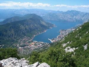 Středomoří černá hora kotor